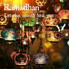 Let this month heal you