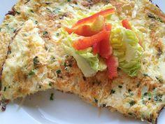 Omeleta s tvarohom a zeleninou, Zdravé recepty, recept | Naničmama.sk Quiche, Low Carb, Healthy Recipes, Breakfast, Cooking, Morning Coffee, Quiches, Healthy Eating Recipes, Healthy Food Recipes