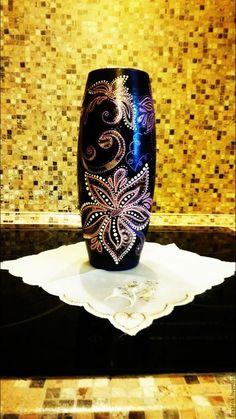 """Вазы ручной работы. Ярмарка Мастеров - ручная работа. Купить Стеклянная ваза """"Гармония"""". Handmade. Стеклянная ваза, стеклянная ваза"""