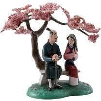 WDCC piece, Mulan & her Father