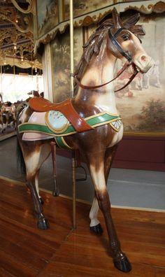 National Carousel Association - Kit Carson County Fairgrounds Carousel - PTC 3rd Row Stander