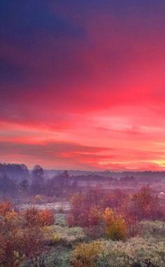"""""""Bajeczny wschód słońca"""". http://kontakt24.tvn24.pl/najnowsze/bajeczny-wschod-slonca-kolorowy-poranek-na-waszych-zdjeciach,185068.html"""