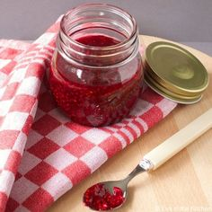 Raspberry and Lime Jam