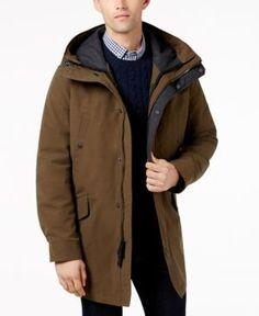 Cole Haan Men's 3-In-1 Utility Jacket - Green 2XL