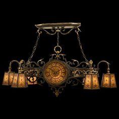 Cyan Design Largo Gold Six-Light Chandelier | Gold chandelier ...