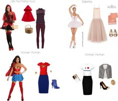 Just say no to the too sexy Halloween costume. A guide to sophisticated, whimsical and creative office-friendly costumes for your workday or work party. Work Appropriate Halloween Costumes, Easy Halloween Costumes For Women, Last Minute Halloween Costumes, Costume Halloween, Creative Halloween Costumes, Cute Costumes, Halloween Diy, Costume Ideas, Group Costumes