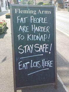 A little chalkboard humor :)