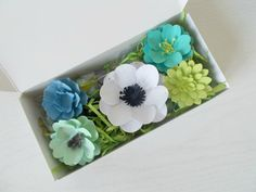 Eco Friendly Plantable Paper Flower and Seed Bomb Gift Set - Unique Gardening Gift - Plant and Grow! Blue Flowering Shrubs, Seed Bombs, Soil Layers, Seed Paper, Garden Gifts, Green Building, Craft Gifts, Paper Flowers, Sewing Crafts
