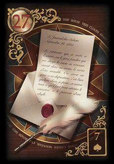 Saiba e aprenda mais sobre as combinações das cartas do Baralho Cigano Lenormand e aprofunde seus conhecimentos na carta Cartas.