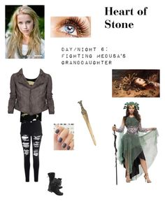 """""""SPN - S3 """"Heart of Stone"""" (Own chapter) - Kelsey Sanders"""" by nerdbucket ❤ liked on Polyvore featuring MeDusa, S.W.O.R.D., Glamorous, Abbey Dawn and MuuBaa"""