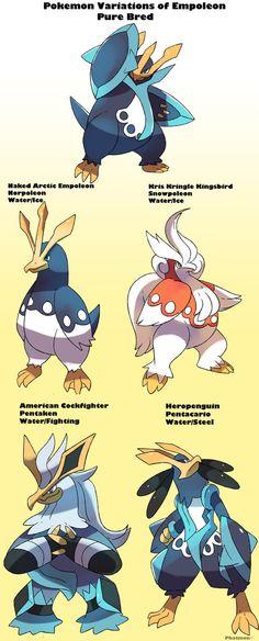 Pokemon Subspecies Empoleon by Phatmon on DeviantArt