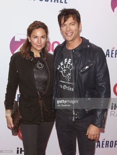 actress/model Jill Goodacre and singer Harry Connick Jr. attend Z100's Jingle Ball 2013 at Madison Square Garden on December 13, 2013 in New York City.