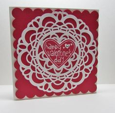 QFTD146 Doily Valentines by nancy littrell - Cards and Paper Crafts at Splitcoaststampers