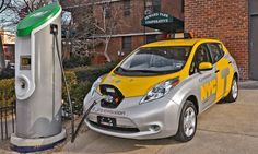 Electric Cars, Charging stations on the increase - infographic