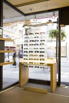 Optik Thill Display Design, Store Design, Optometry Office, Eyewear Shop, Glasses Shop, Optical Shop, Retail Design, Visual Merchandising, Office Decor