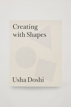 Basic geometric shapes form the basis for how we design the things that surround us and Usha Doshi's Creating with Shapes, the first title published by COS, uses these simple forms to push the boundaries of pattern cutting and design. This book offers a solid starting point for original solutions and represents Usha's wish to pass down her skills and experience to the next generation of pattern cutters, designers and makers.
