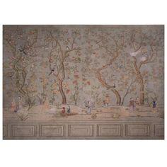 "5 3//4/"" x 50/' Self Sticking Adhesive Wallpaper Border Renoir Olive"