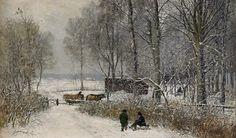 Olof Hermelin - Winter Landscape