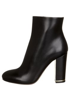 Eva Turner BURRO - Classic ankle boots - nero for Free delivery for orders over Black Ankle Boots, Heeled Mules, My Favorite Things, High Heels, Booty, Shoes, Fashion, Moda, Swag
