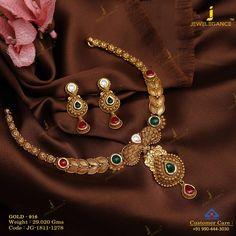 Get In Touch With us on Indian Gold Jewellery Design, Gold Temple Jewellery, Gold Chain Design, Gold Jewelry, Indian Jewelry, Diamond Jewellery, Jewellery Designs, Handmade Jewellery, Gold Bangles