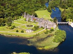 Ashford Castle, Cong, Ireland. One of the prettiest -- and best-smelling! -- places I've ever been.
