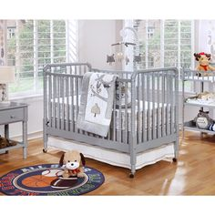 Shermag Jenny Lind Crib features is made from select hardwood and features fully…