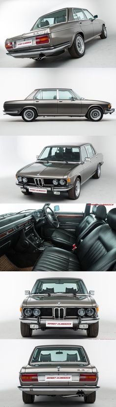 1977 BMW 3.3 Li / 190hp L6 / Germany / silver / 17-428