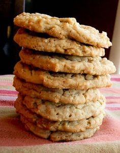 The Farm Girl Recipes: Peanut Butter Oatmeal Cookies