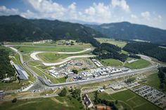 2017 Formula 1 Rnd 9, Austria GP, Circuit Aerial View