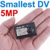 5MP HD Smallest Mini DV Spy Camera Video Recorder Hidden Cam DV DVR With 1280 x 960 Resolution