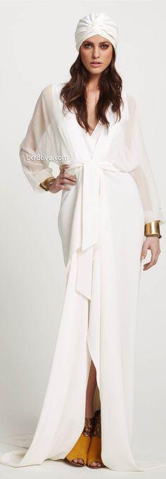 Elie Tahari Resort 2012 Fashion Show - Alejandro Alonso Fashion Photo, Love Fashion, Fashion Design, Fashion Jobs, Vogue, Elie Tahari, White Fashion, A Boutique, Hijab Fashion