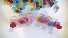 Pink LEGO Ring Valentines Day Party Favors LEGO Friends by ValVal7, $1.00