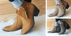 Who couldn't use a new pair of ankle boots at this price?! #socute #musthaves #jane #jane.com #shoes #booties #ankleboots