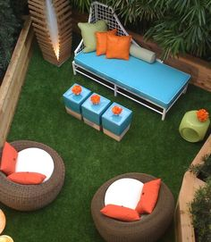 Can be used on the deck - Fake Grass Synthetic Turf Depot 866-655-3040