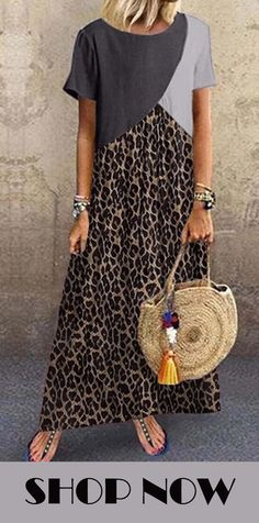 Elegant Summer Dresses, Casual Dresses, Dress Outfits, Cool Outfits, Fashion Dresses, Linen Dresses, Dresses With Sleeves, Animal Print Outfits, Costume Collection