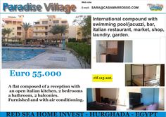 Flat For sale in Hurghada, Red Sea.