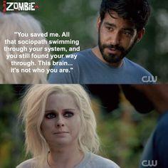 "#iZombie 1x03 ""The Exterminator"" - Ravi and Liv"