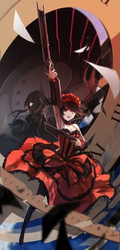 Kurumi Tokisaki Anime Date Alive