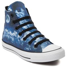 Converse Chuck Taylor All Star Hi Night Sky Sneaker ($60) ❤ liked on  Polyvore