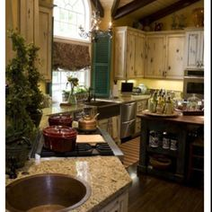 Kitchen, French Country Style Kitchen Designs And Decoration The Modern Of French Kitchen Decor For Home Home Design, Küchen Design, Layout Design, Design Ideas, Design Room, Floor Design, Rustic Design, Country Kitchen Designs, French Country Kitchens