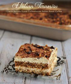 Italian Tiramisu Recipe with Italian Roast Coffee #YourPerfectCup
