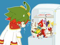 Yuya and Odd-Eyes Pendulum Dragon
