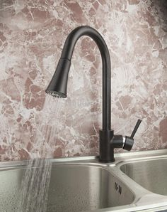 Oil Rubbed Bronze Kitchen Sink Single Handle Mixer Tap Faucet Dh 7250 From Bibilolo, $72.0 | Dhgate.Com