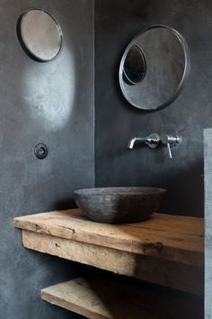 Rustic bathrooms 49117452175217882 - Waschbecken Marmor schwarz Source by lachauxninon
