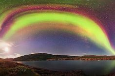 Blinded By Northern Lights, Captured By Photographer Juan Carlos Casaso In Greenland