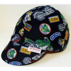 """""""Harley Fever"""" Welding Cap or Biker Hat- www.allamericanhats.com"""