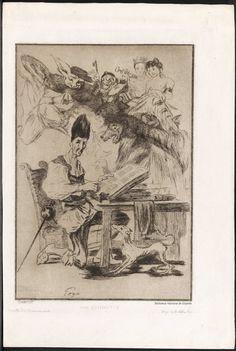 [La visión de Don Quijote]. Bracquemond, Félix 1833-1914 — Grabado — 1860