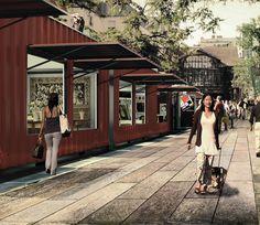 disused railroad la petit ceinture becomes itenerant market