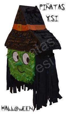 Piñata Original de Bruja de Halloween.