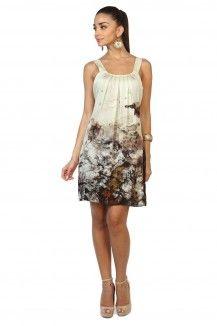 Printed Satin Georgette Dress  Rs. 2,250